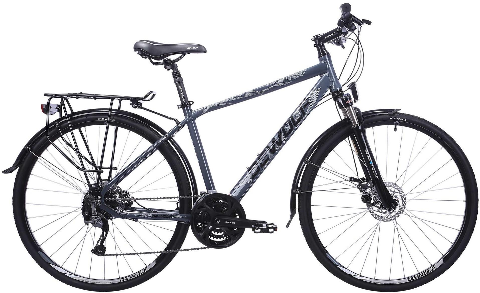 """Велосипед Dewolf Asphalt 2 серый 28"""""""