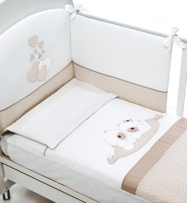 Постельное белье Baby Expert Sogno белы…