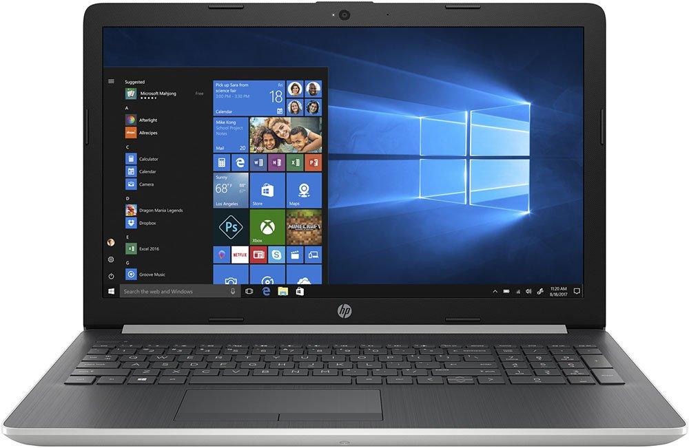 """Ноутбук HP 15-db0196ur 15,6""""/2,3GHz/4Gb/500Gb/W10 Silver"""