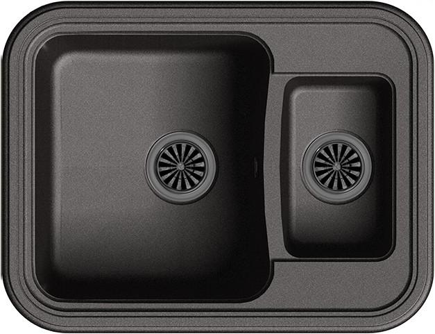 Кухонная мойка Ewigstein Antik А-60K черный