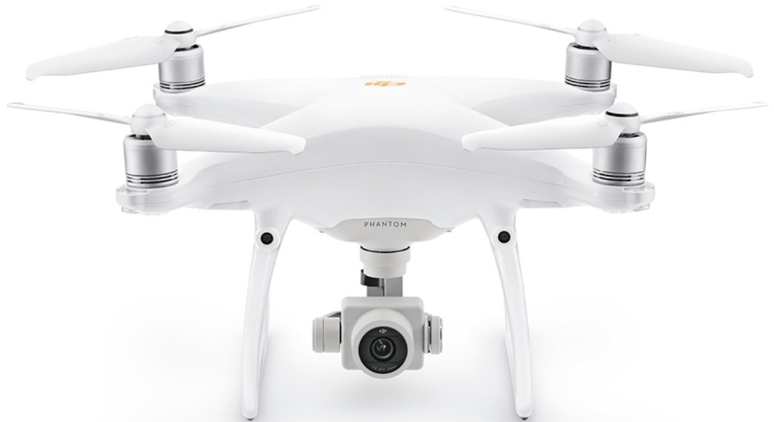 Квадрокоптер DJI Phantom 4 Pro Plus V2.0 White