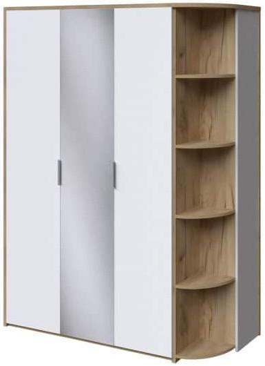 Шкаф Интердизайн Тоскано дуб крафт/белый 2209x1622x599 см