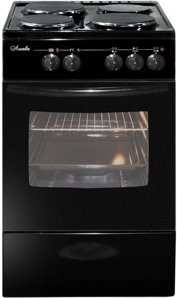 Плита Лысьва ЭПС 301 МС черный, без крышки