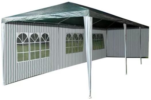 Шатер Афина-Мебель AFM-1045A зеленый/белый