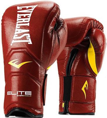 Перчатки Everlast Elite Pro 16oz Red (на липучке)