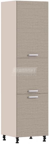 Пенал Столплит Регина 331-360-360-5334 песочный/дуб сантана светлый 60x237x56 см