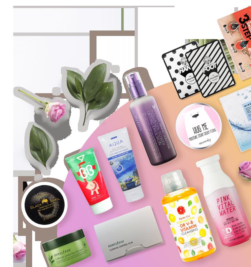 Набор косметики Cosmetic Box для ежедневного ухода за молодой кожей лица