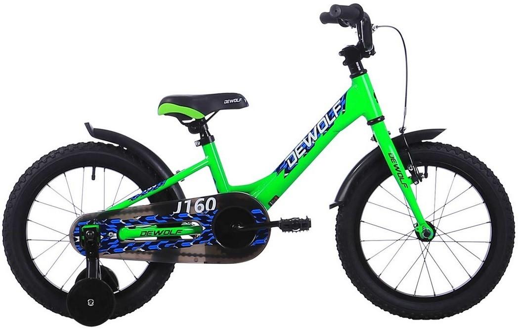 """Велосипед Dewolf J160 Boy зеленый 16""""/S"""