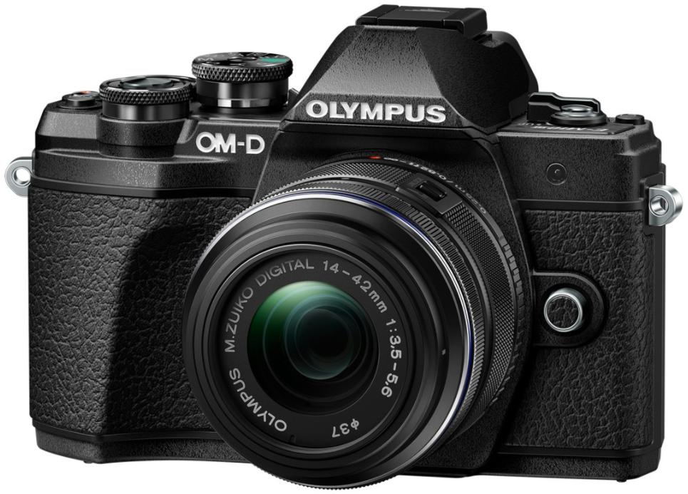 Фотоаппарат Olympus OM-D E-M10 Mark III Kit 14-42mm f/3.5-5.6 EZ Black + 40-150mm f/4.0-5.6 R