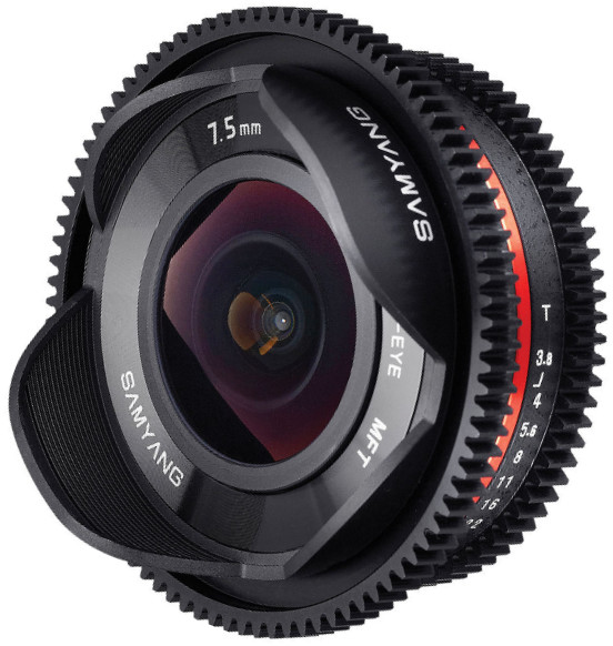 Samyang MF 7.5mm T3.8 Cine ED AS UMC Fish-eye Micro 4/3