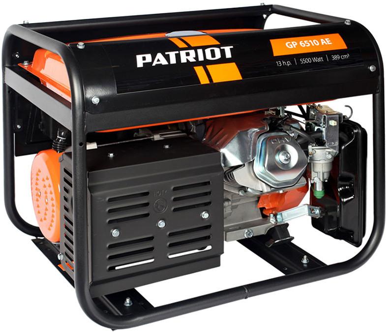 Электрогенератор Patriot GP6510AE