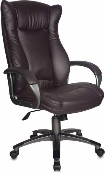 Кресло руководителя Бюрократ CH-879DG/COFFEE темно-коричневый