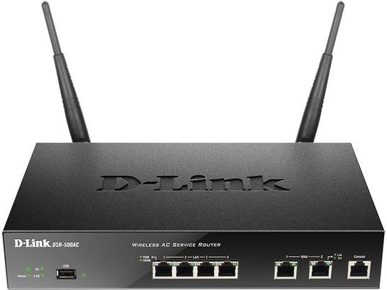 Маршрутизатор D-Link DSR-500AC