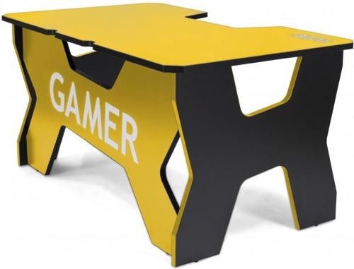 Компьютерный стол Generic Comfort Gamer2/NY Yellow/Black