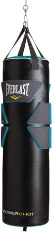 Боксерский мешок Everlast Powershot Gel PU 36 кг Black