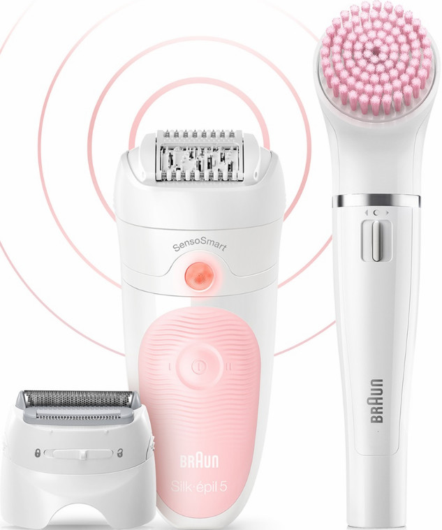 Эпилятор Braun Silk-epil 5 Beauty Set 5-895