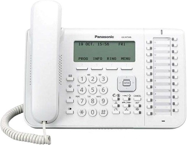 IP-телефон Panasonic KX-NT543 White