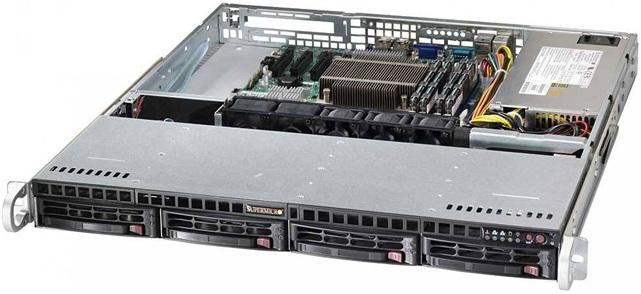 Рэковый корпус Supermicro SuperChassis 813MTQ-350CB