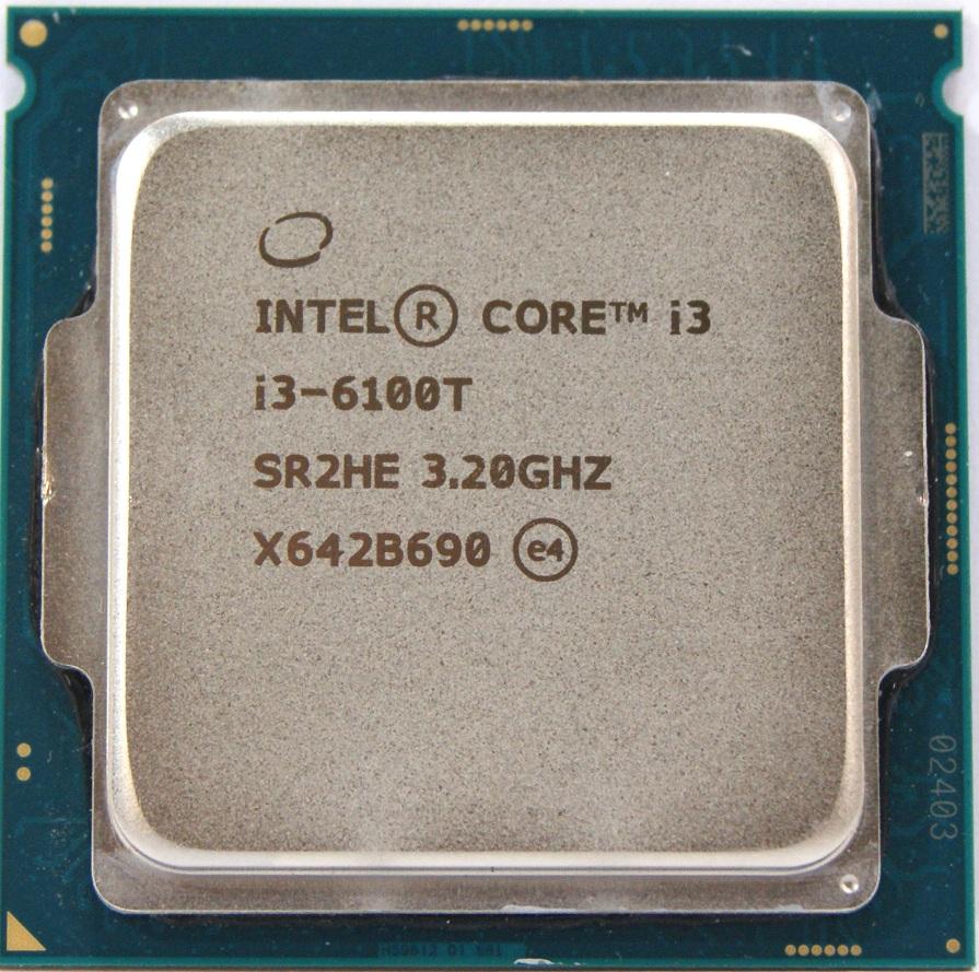 Процессор (CPU) Intel Core i3-6100T 3.2GHz SR2HE OEM