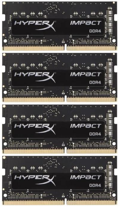 Память Kingston HyperX Impact SODIMM DDR4 4x8Gb 2400MHz