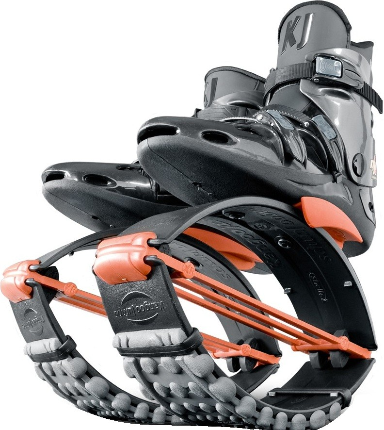 Джамперы Kangoo Jumps KJ-XR3 Black/Orange (размер 33-35)