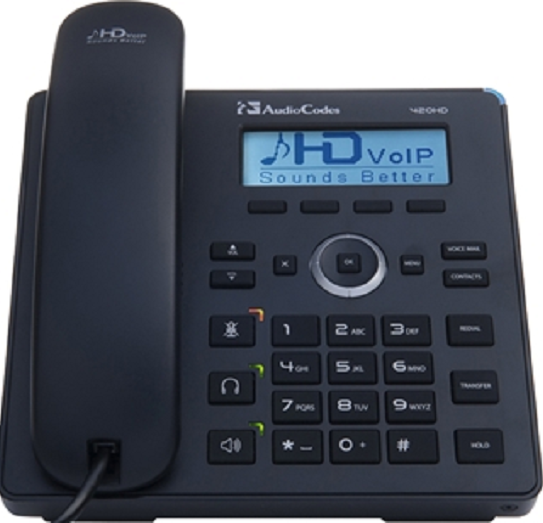 IP-телефон AudioCodes IP-Phone 420HD