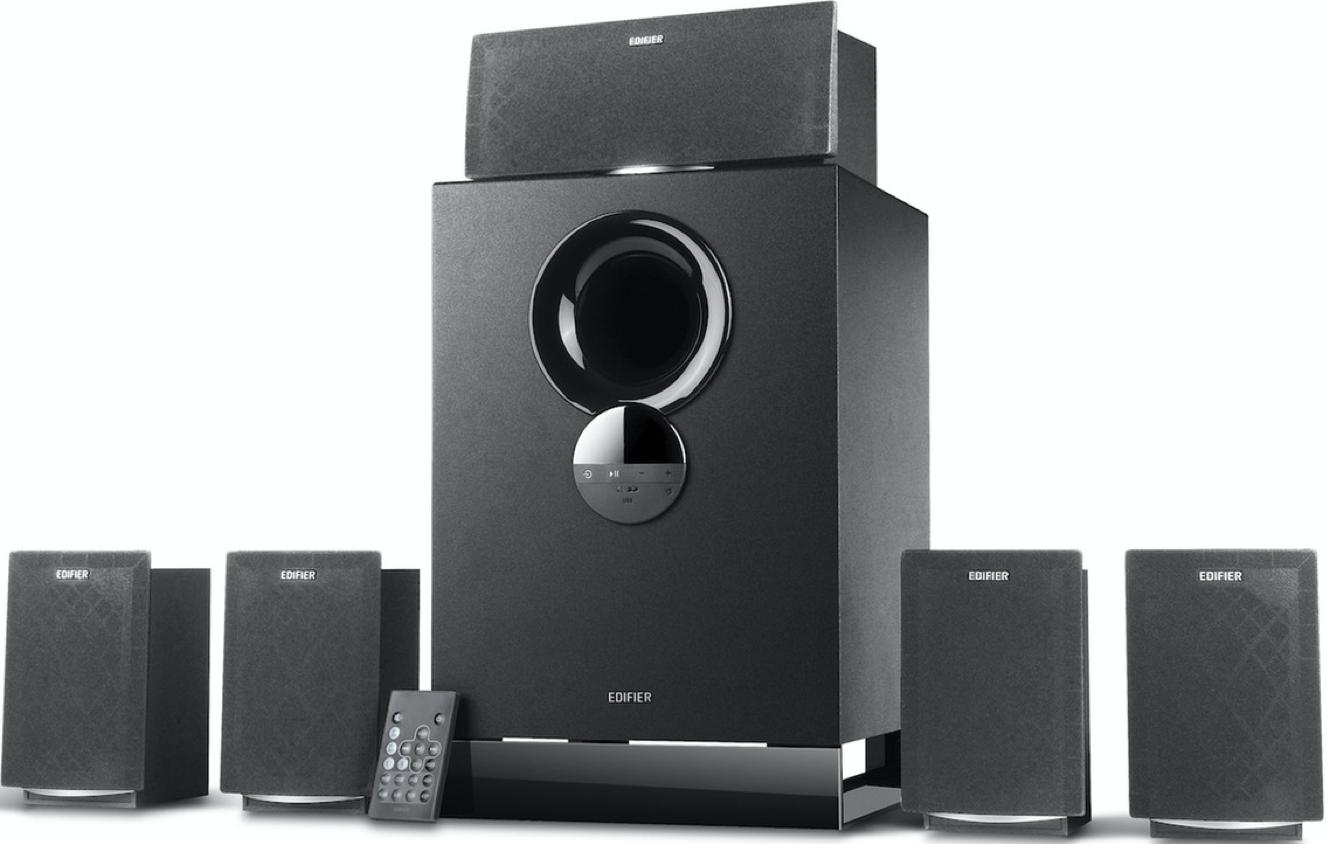 Акустическая система Edifier R501BT 5.1 Black