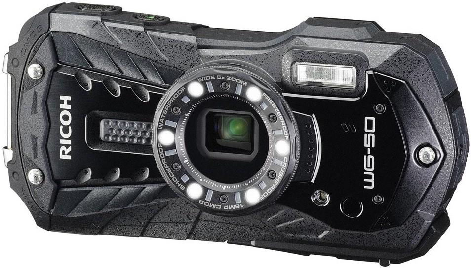 Фотоаппарат Ricoh WG-50 Black