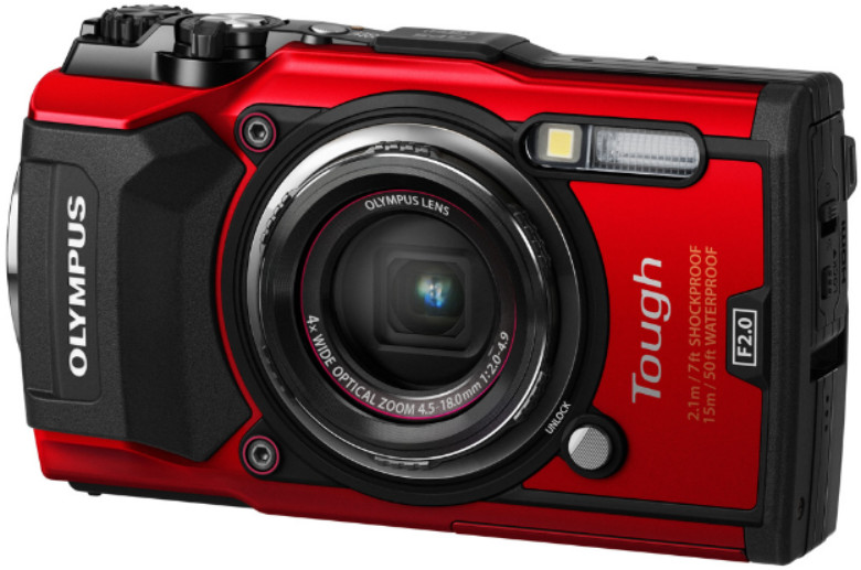 Фотоаппарат Olympus Tough TG-5 Red