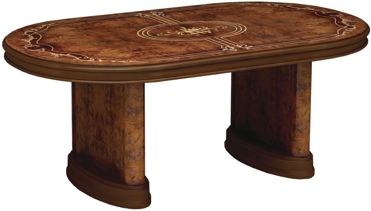 Кухонный стол Интердизайн Роза коричневый/коричневый 760x2320x1040 см