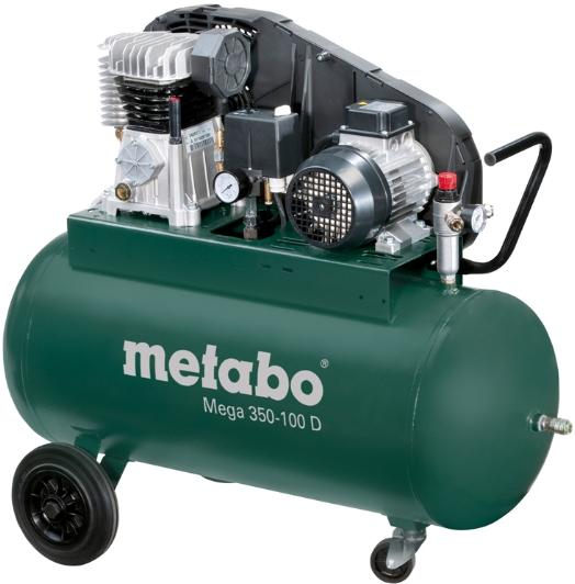 Поршневой компрессор Metabo Mega 350-100 D