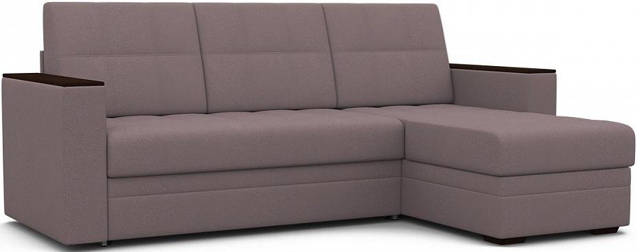 Диван-кровать Цвет Диванов Атланта угловой Next капучино 231x150x95 см