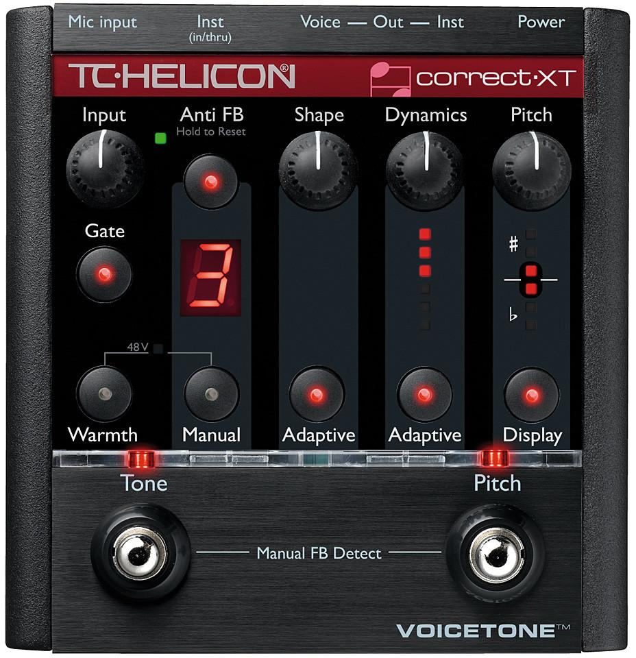 Прибор звуковой обработки TC Helicon Vo…