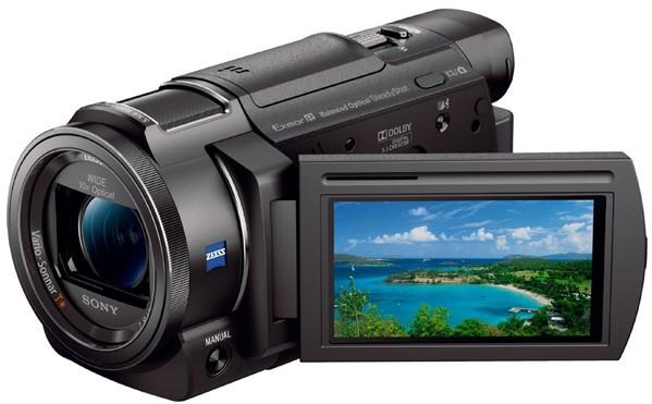 Видеокамера Sony FDR-AX33 Black