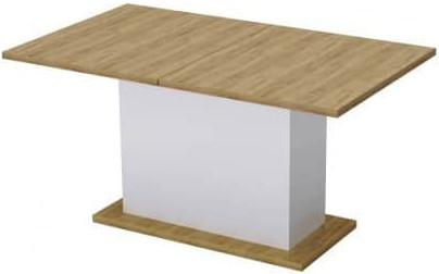 Кухонный стол Интердизайн 60.212.DK светло-коричневый/белый 760x2000x900 см