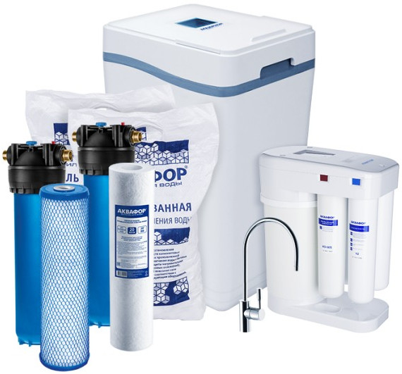 Система очистки воды Аквафор WaterBoss …