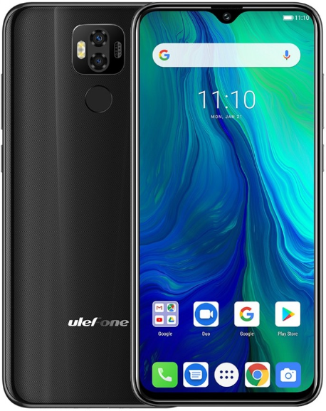Смартфон Ulefone Power 6 LTE 4Gb 64Gb Black