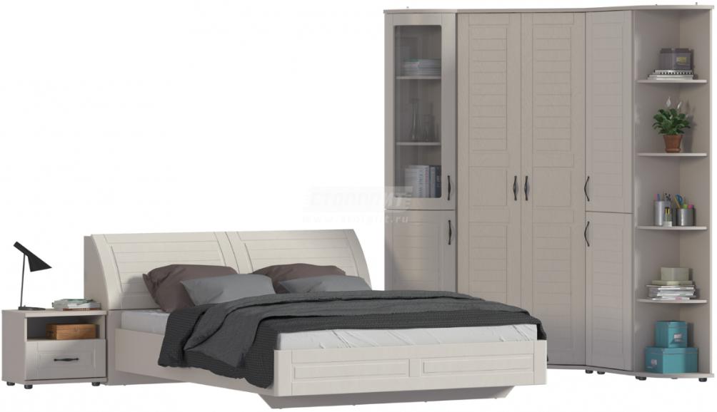Спальня Столплит Сити 129-232-827-4647 бежевый песок/кофе