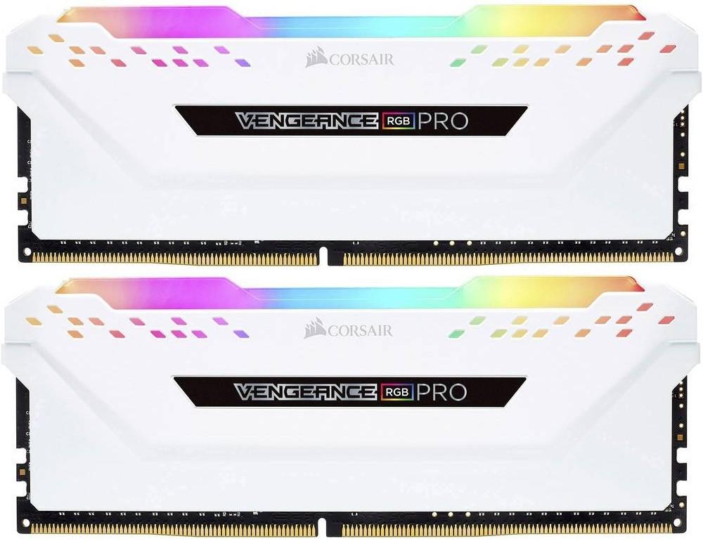 Память Corsair Vengeance RGB Pro DIMM DDR4 2x16Gb 3000MHz White