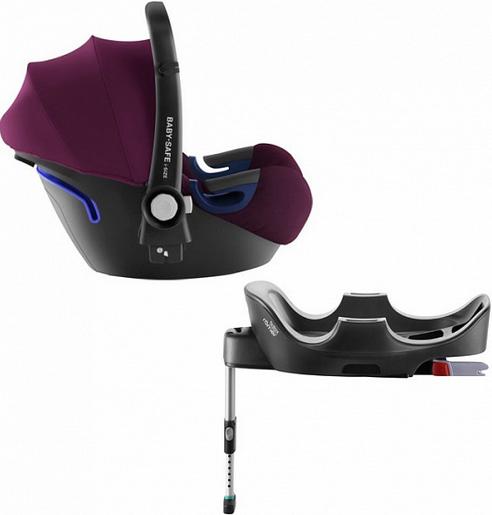 Автокресло Britax Roemer Baby-Safe2 i-Size Burgundy Red (0-13 кг) + Base Flex
