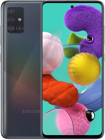Смартфон Samsung Galaxy A51 LTE 6Gb 128Gb Black