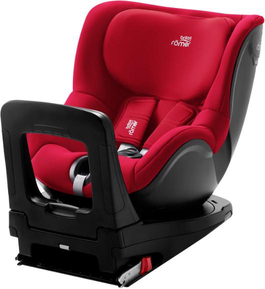 Автокресло Britax Roemer Dualfix i-Size Fire Red (0-18 кг)