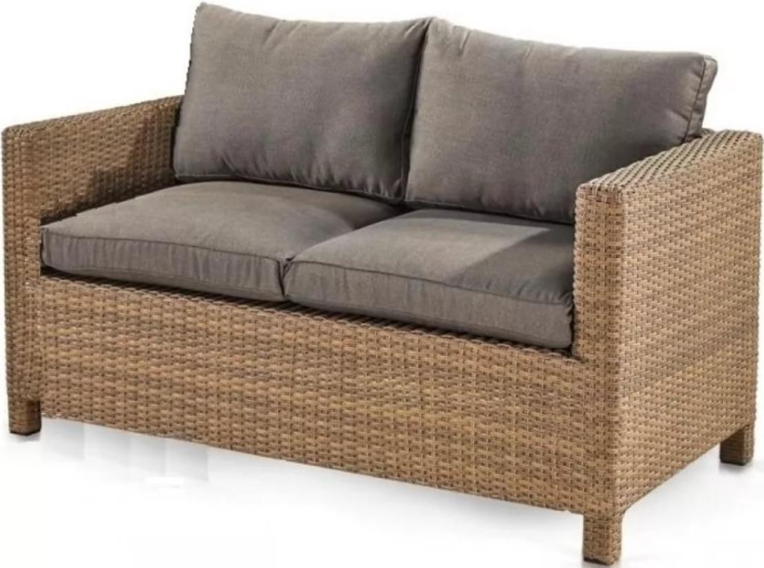 Диван Афина-Мебель S59B-W65 светло-коричневая