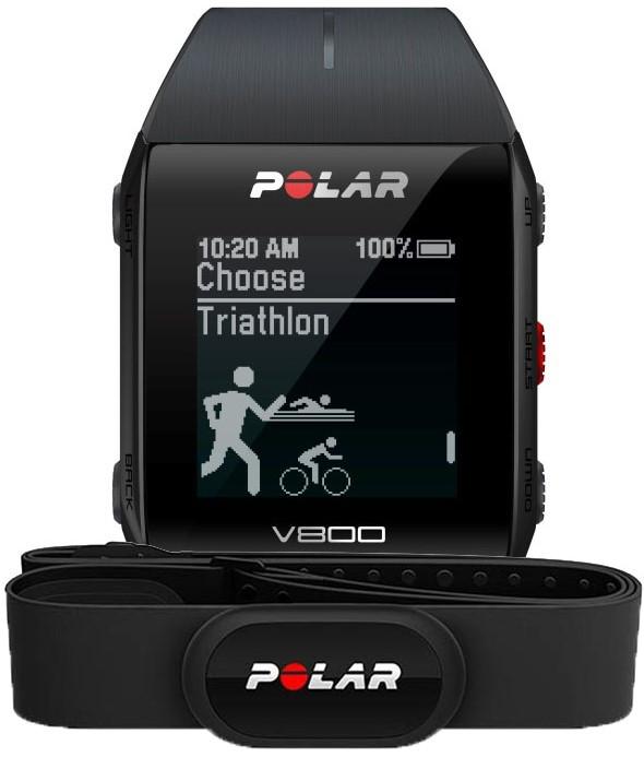 Умные часы Polar V800 Black + Polar H10