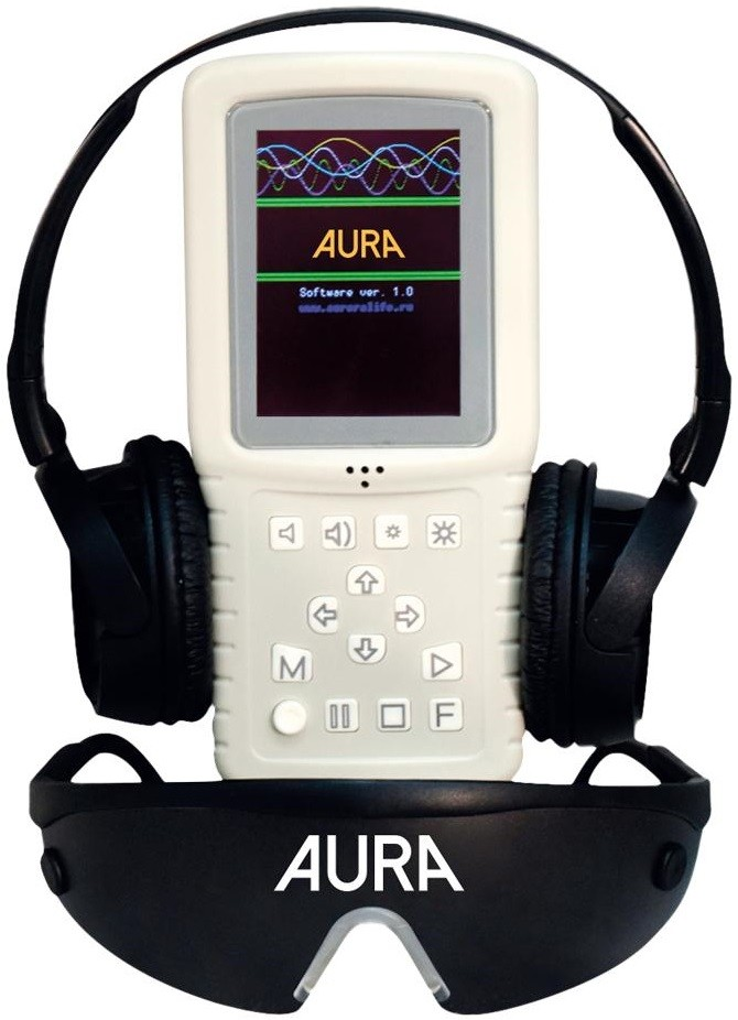 Аудиовизуальный стимулятор Aurora Aura-1