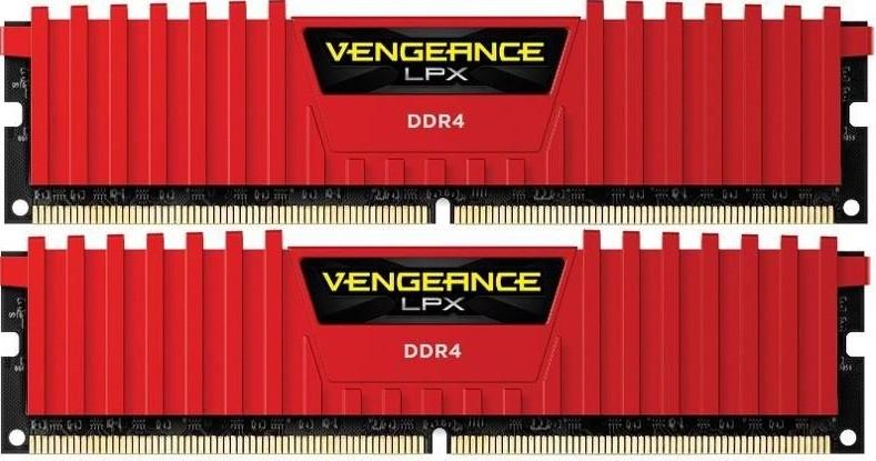 Память Corsair Vengeance LPX DIMM DDR4 2x16Gb 3200MHz Red