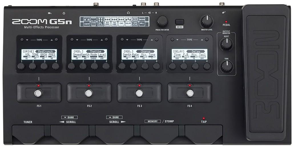 Процессор эффектов Zoom G5n