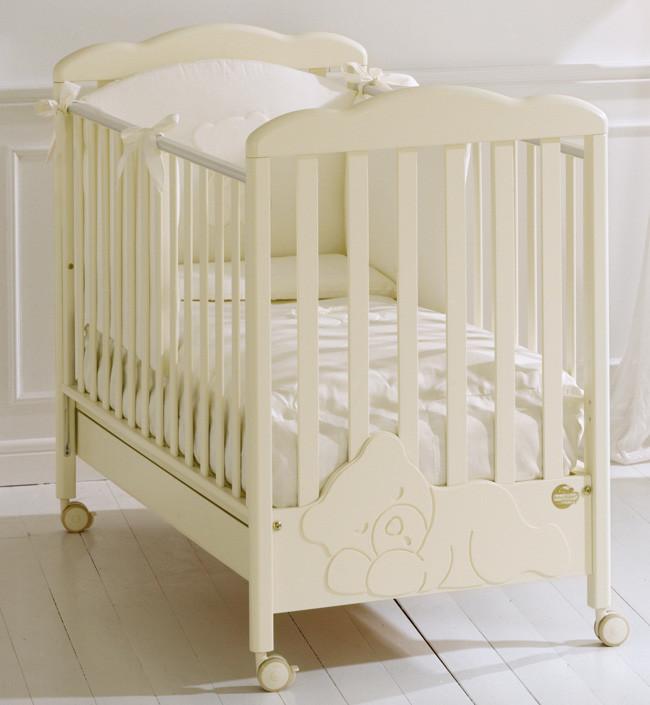 Кроватка Baby Expert Coccolo кремовый