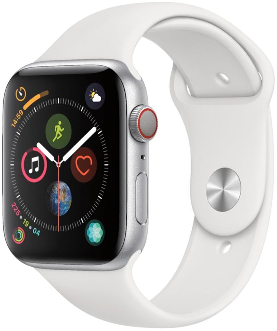 Умные часы Apple Watch Series 4 Cellular 44mm MTUU2 Silver/White