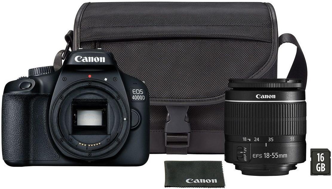 Фотоаппарат Canon EOS 4000D Travel Kit …